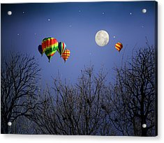 Moonlit Ride Acrylic Print