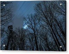 Moonlit Sky Acrylic Print