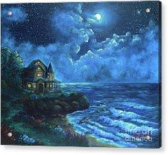 Moonlit Splendor Acrylic Print