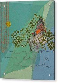 Moonlit Gobbler Acrylic Print by Catherine Hollander