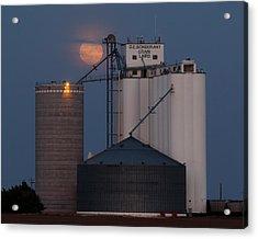 Moonrise At Laird -01 Acrylic Print