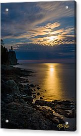 Moonrise From The Cloudbank Acrylic Print
