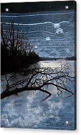 Moons Acrylic Print