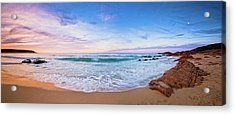 Acrylic Print featuring the photograph Bunker Bay Sunset, Margaret River by Dave Catley