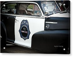 Moonshine Patrol Acrylic Print by DigiArt Diaries by Vicky B Fuller