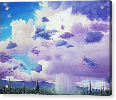 Moonsoon Beauty Acrylic Print