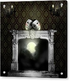 Moonstruck Acrylic Print by Larry Butterworth