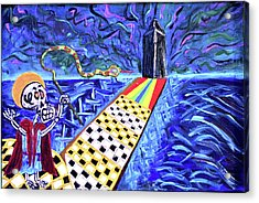 Moooshe And The Red Sea Acrylic Print