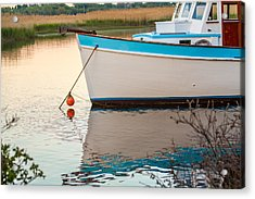 Moored Boat 2 Acrylic Print by Brian MacLean