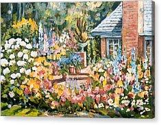 Moore's Garden Acrylic Print