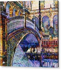 Moorish Bridge Acrylic Print