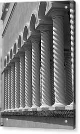 Moorish Pillars Spain Acrylic Print by Douglas Pike