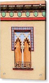 Moorish Window Acrylic Print by David Letts