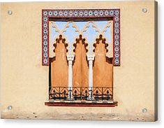 Moorish Window II Acrylic Print by David Letts