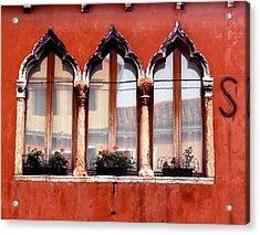 Moorish Window Acrylic Print