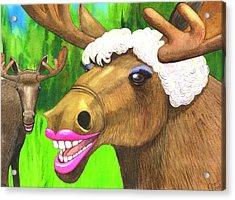 Moose Lips Acrylic Print