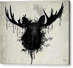Moose Acrylic Print by Nicklas Gustafsson