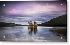 Moose Pond Maine Acrylic Print