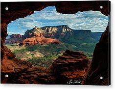 Moose Ridge 06-056 Acrylic Print by Scott McAllister