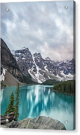 Moraine In The Summer Acrylic Print