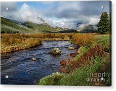 Moraine Park Morning - Rocky Mountain National Park, Colorado Acrylic Print
