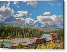 Acrylic Print featuring the photograph Morant's Curve 2009 04 by Jim Dollar