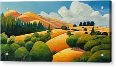 More Clouds Over Windy Hill Acrylic Print