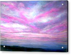 More Dramatic Panorama Acrylic Print