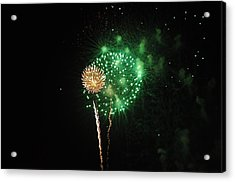 More Fireworks  Acrylic Print by Brynn Ditsche
