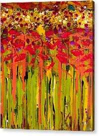 More Flowers In The Field Acrylic Print