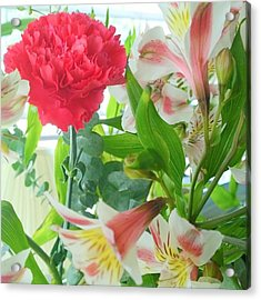 More #spring #flowers? Yes, Please ! Acrylic Print