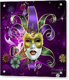 Moreno Incognito Acrylic Print