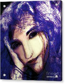 Morgaine Le Fay Acrylic Print by RC deWinter