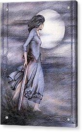 Morgan Le Fay Acrylic Print