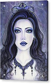Morgan Le Fay Acrylic Print by Renee Lavoie