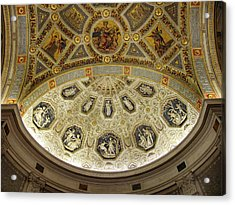 Acrylic Print featuring the photograph Morgan Library Rotunda by Jessica Jenney