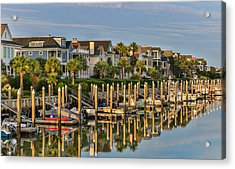 Morgan Place Homes In Wild Dunes Resort Acrylic Print