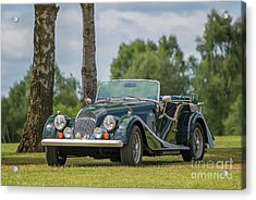 Acrylic Print featuring the photograph Morgan Sports Car by Adrian Evans