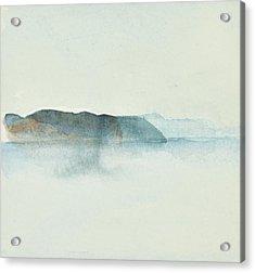 Morgondis Over Kusten - Morning Haze Over The Swedish Westcoast, Hunnebo_1211 Up To 70 X 70 Cm Acrylic Print