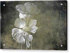 Moring Blooms Acrylic Print
