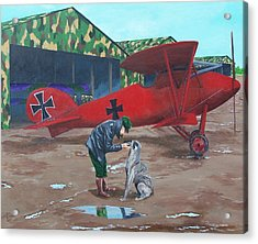 Moritz And Richthofen Acrylic Print by Gene Ritchhart