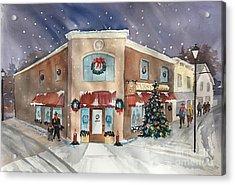 Morkes Christmas 2017 Acrylic Print