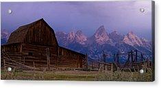 Mormon Village Acrylic Print
