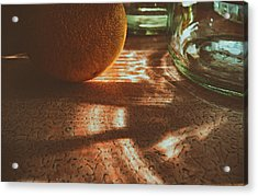 Acrylic Print featuring the photograph Morning Detail by Steven Huszar
