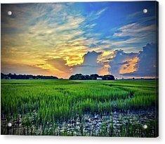 Morning Across The Marsh Acrylic Print