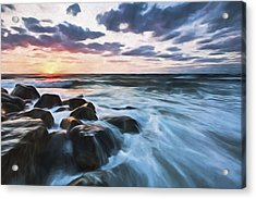 Morning All The Time II Acrylic Print by Jon Glaser