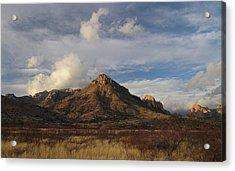 Morning At Arizona's Chiricahua Mountains Acrylic Print