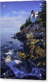 Morning At Bass Harbor Lighthouse Acrylic Print