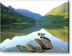 Morning At Echo Lake Acrylic Print by Roupen  Baker