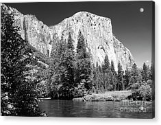 Acrylic Print featuring the photograph Morning At El Capitan by Sandra Bronstein